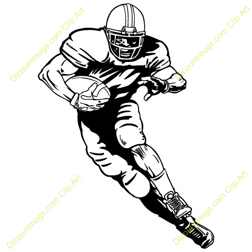 Receiver clipart rugby player Images Football running%20football%20player%20clipart Player Running