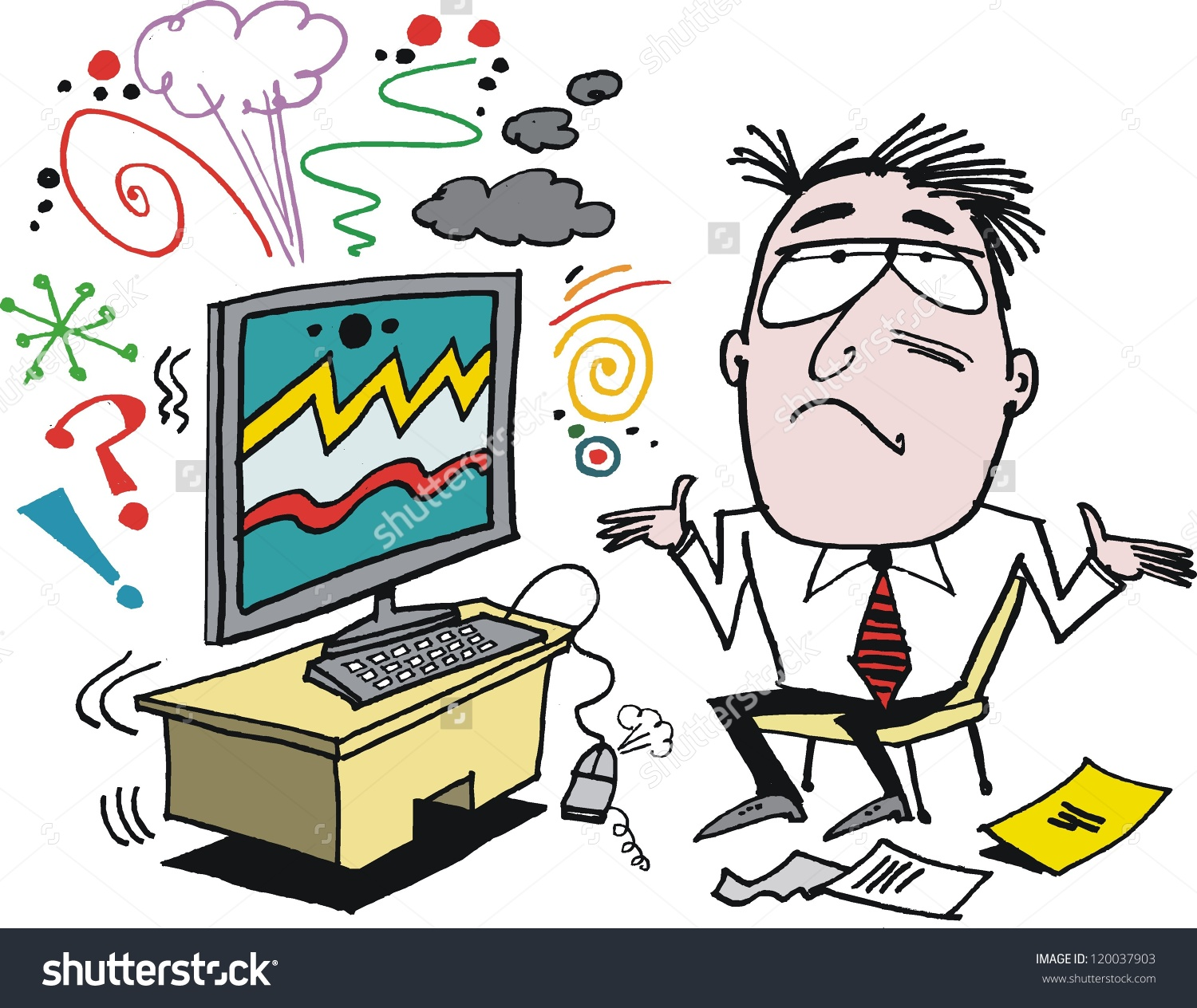 Receiver clipart frustrated man  angry collection clipart Cliparts
