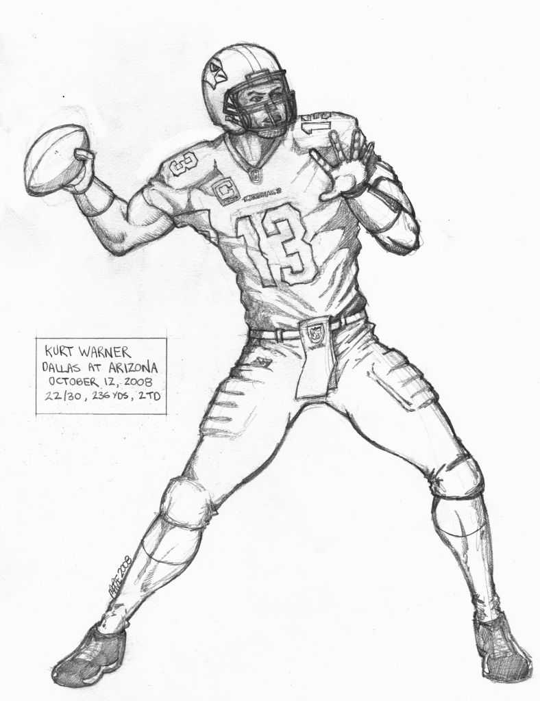 Receiver clipart nfl player Coloring Pages Player Pages Archives