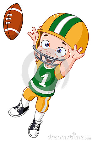 Receiver clipart nfl player Clipart clipart basketball Kid animated