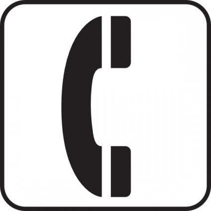 Receiver clipart phone ringing Telephone Phone Free Clipart Free