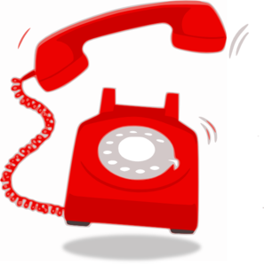 Receiver clipart phone ringing Clipart Black  Collection android