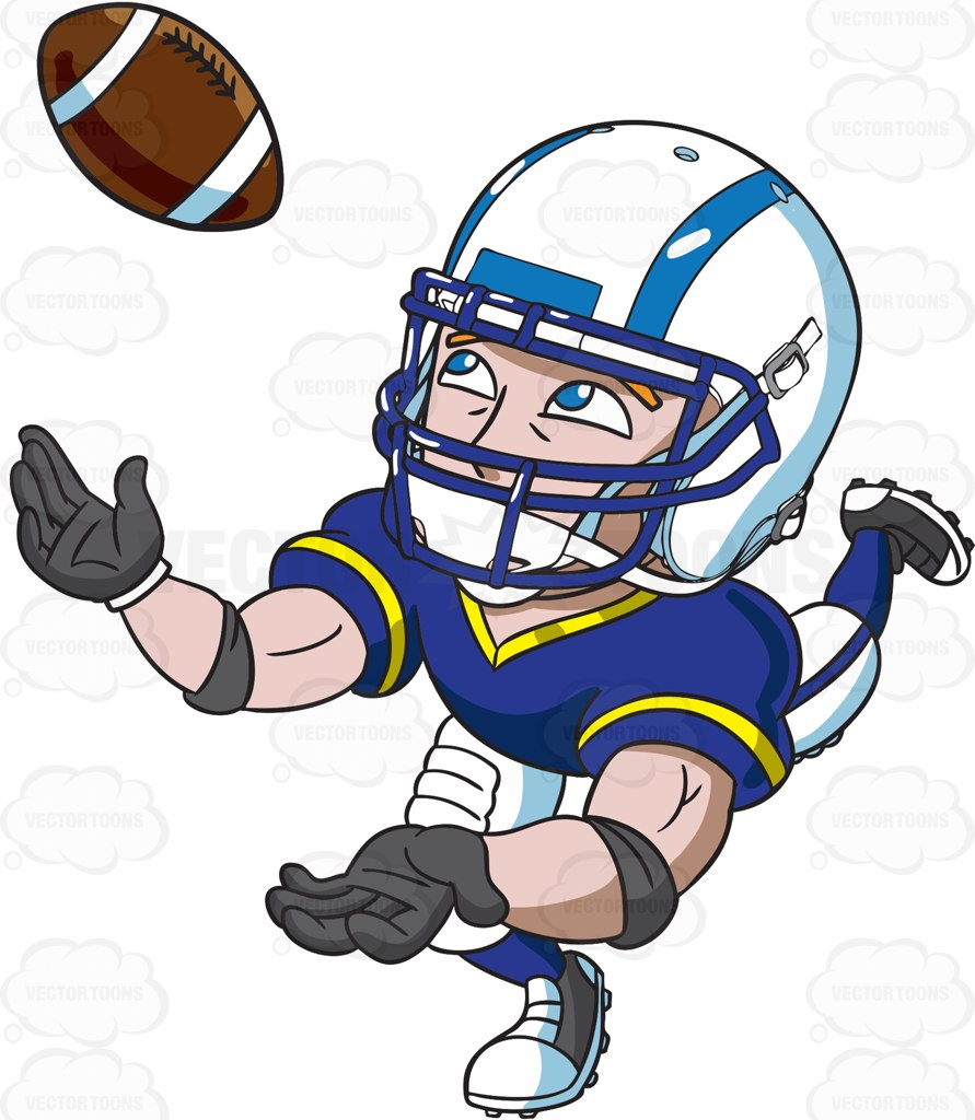 Receiver clipart rugby player Clipart Football A #clipart the