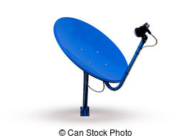 Receiver clipart satellite dish TV Stock Photos and Modern