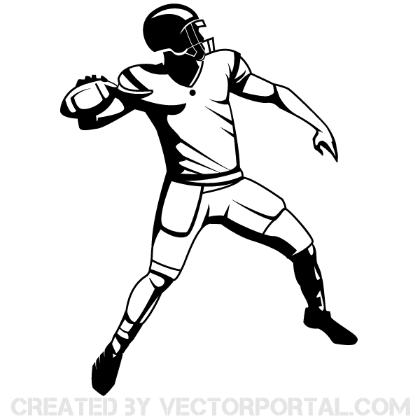 Receiver clipart sport player Free player Collection Drawing Clipart