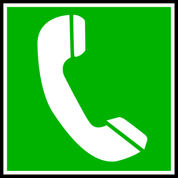 Phone clipart telephone logo Image art Art Clker as: