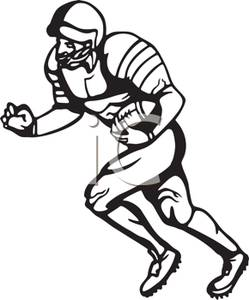 Receiver clipart touchdown Royalty Free Picture Make A