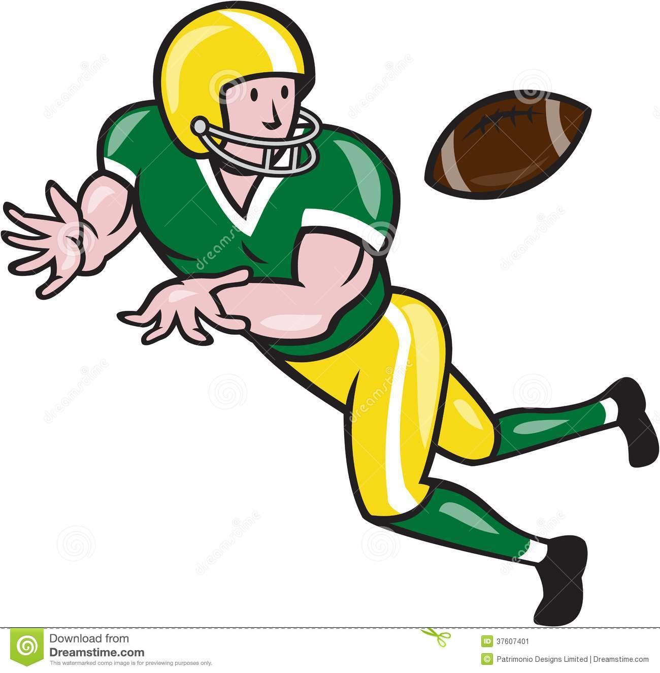 Football clipart cartoon #3