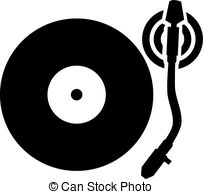 Record Player clipart disc jockey Vector Record arm player Search