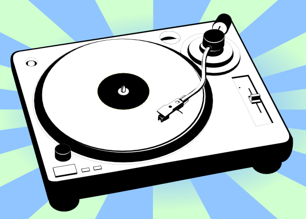 Record Player clipart animated Clker  clip as: Clip