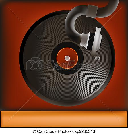 Record Player clipart animated Background Player Vintage Record of