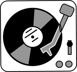 Record Player clipart cartoon Com at clip art royalty