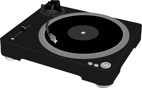 Record Player clipart cartoon At Clip com vector art