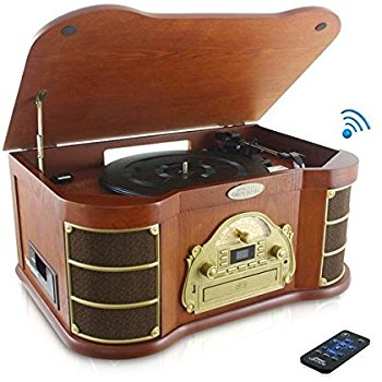 Record Player clipart disc Style Recording PTCD4BT Vintage Built