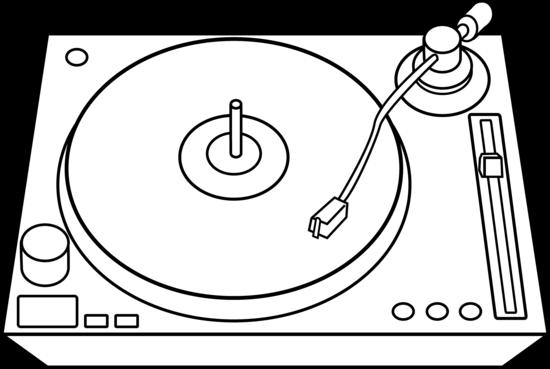 Record Player clipart dj mixer #2