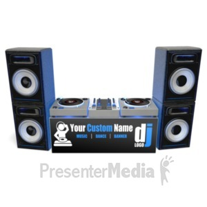 Record Player clipart dj speaker Banner Dj Mixing Turntable Clipart