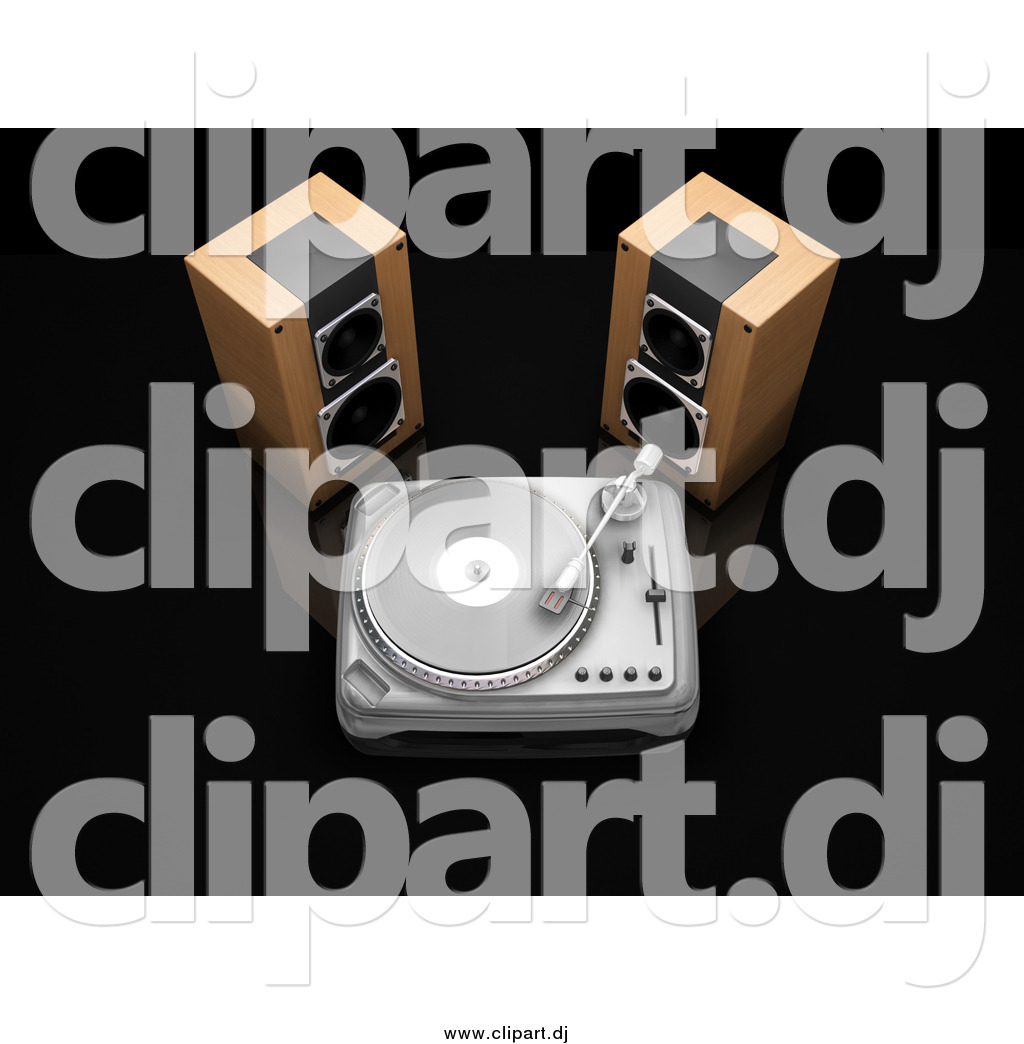 Record Player clipart dj speaker #15