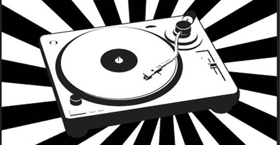 Record Player clipart dj turntable Cliparts Music Record Zone Vector