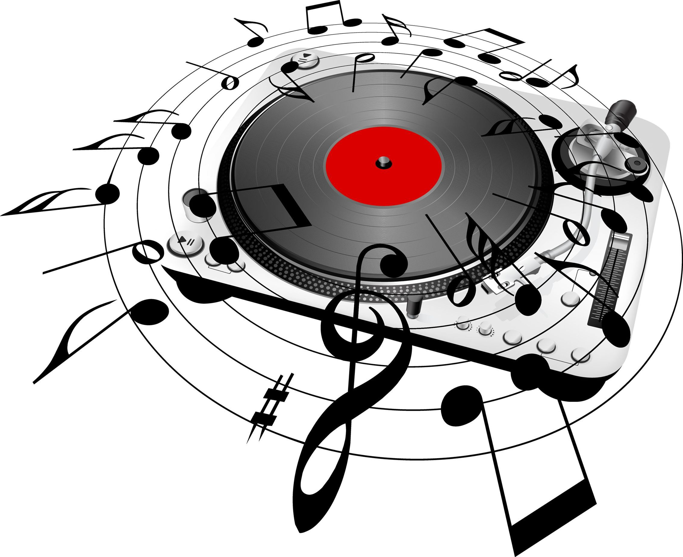 Record Player clipart dj turntable A Audio : Harmonic A