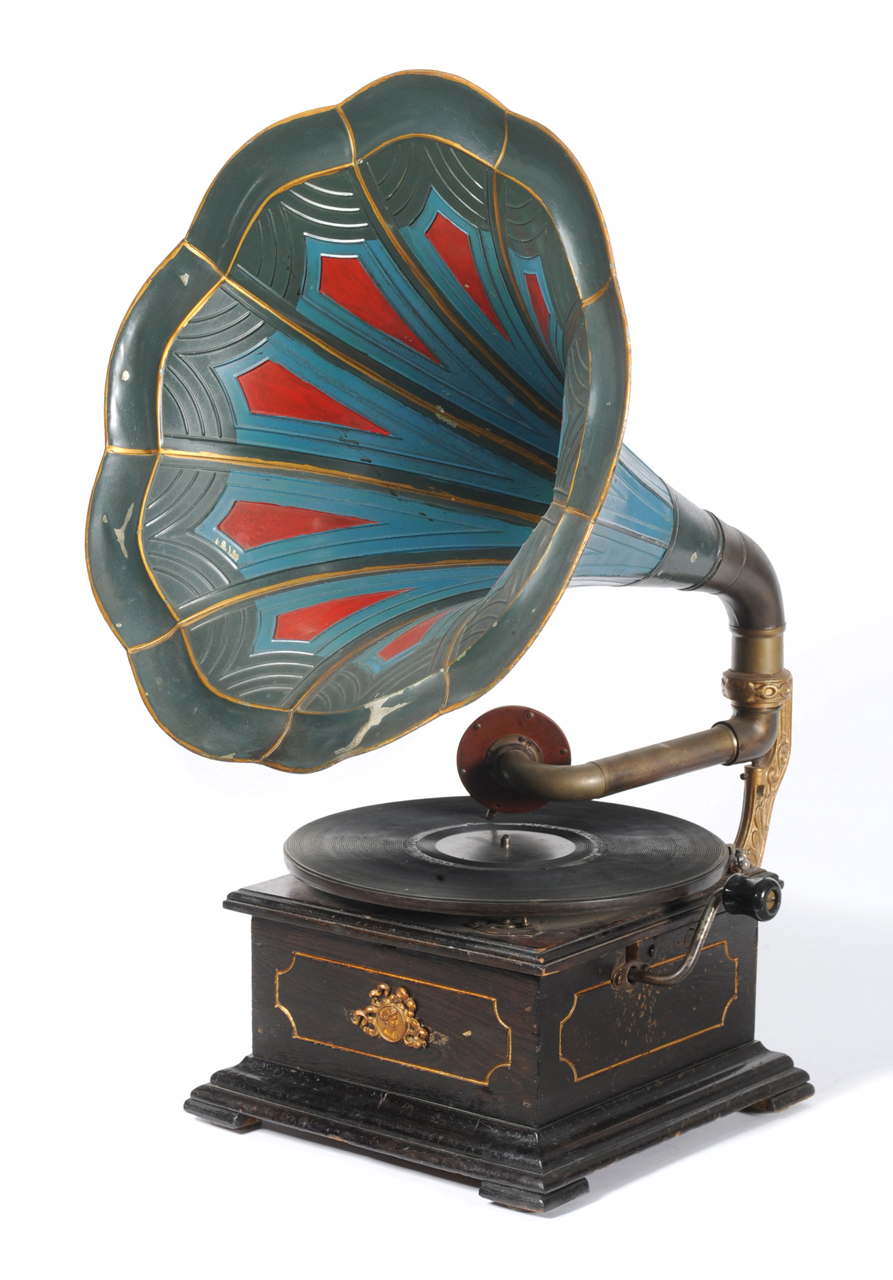 Record Player clipart horn Horn Gramaphone Brass 8Corner for