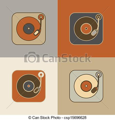 Record Player clipart old fashioned #3