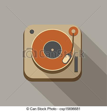 Record Player clipart old fashioned #4
