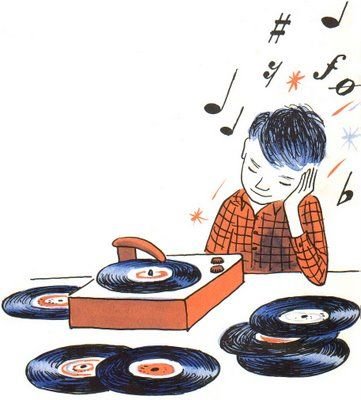 Record Player clipart old fashioned #5