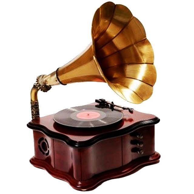 Record Player clipart old school #4