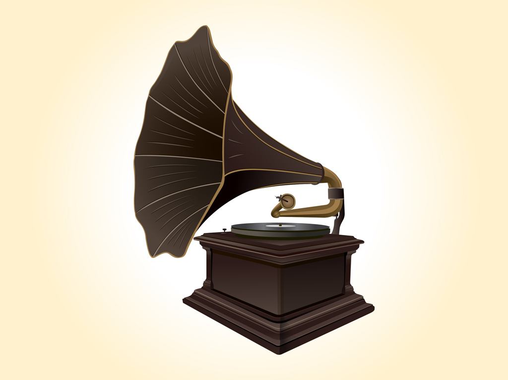 Record Player clipart old school #1