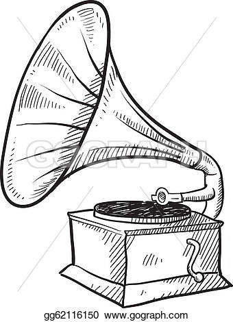 Record Player clipart phonograph Art player Clip format in