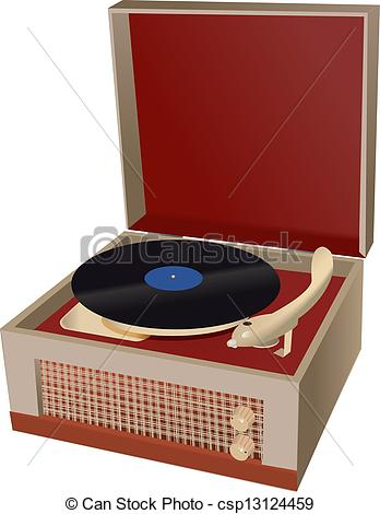 Record Player clipart retro Record Clipart clipart player and