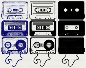 Record Player clipart tape player Player svgrecord cricut player svg