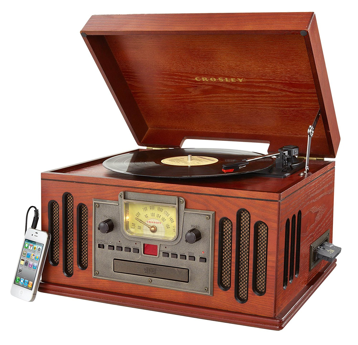 Record Player clipart tape player Amazon CR704C Paprika: PA &