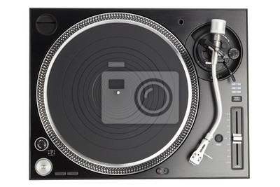 Record Player clipart top view Turntable Images white turntable top