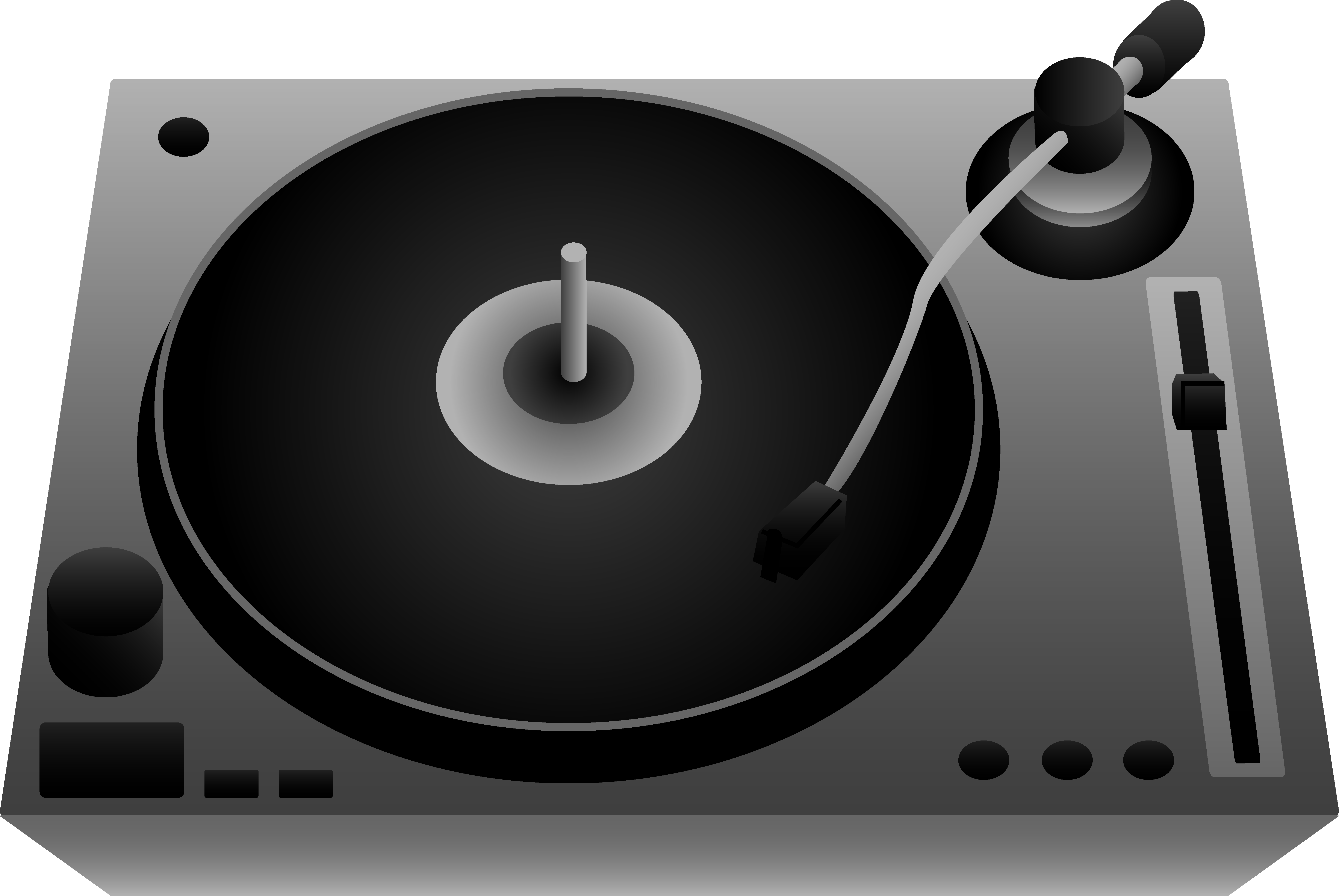 Record Player clipart transparent #14