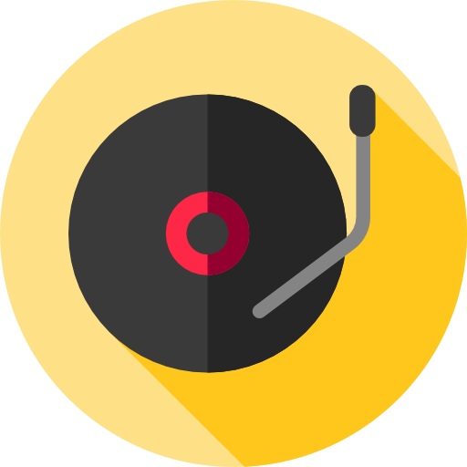 Record Player clipart transparent Multimedia technology icon Record And