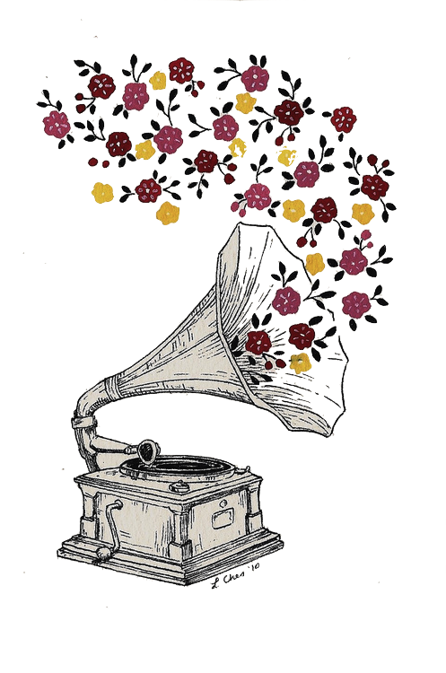 Record Player clipart transparent By on and music uploaded