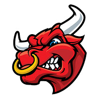 Red Bull clipart bull horn Art Bull Bull Art Head