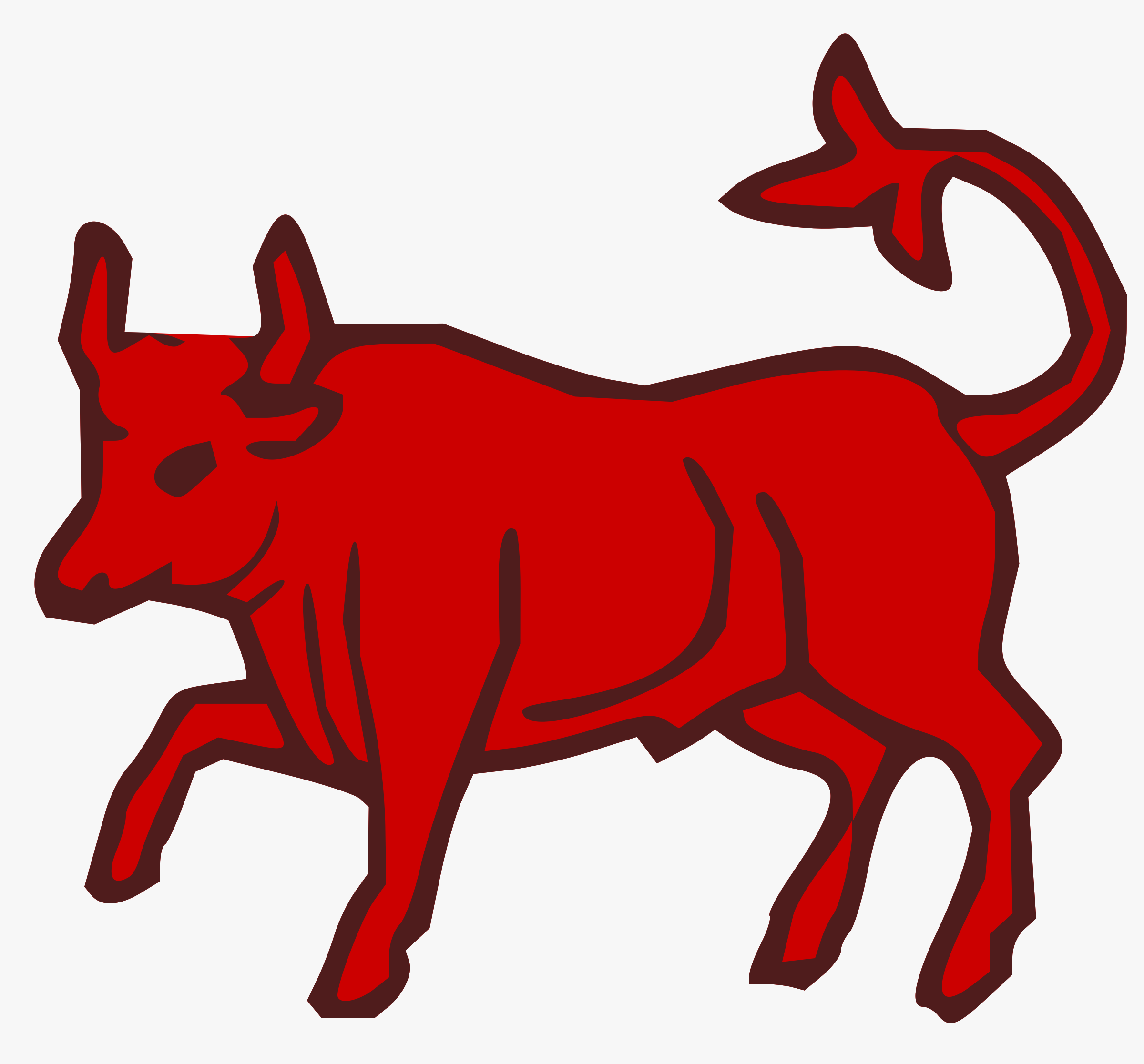 Red Bull clipart angry cow Clipart red red bull bull