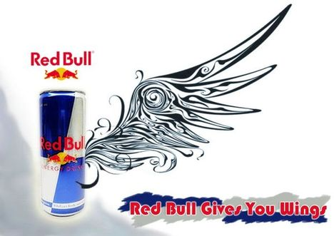 Red Bull clipart bad Advert don't for that or