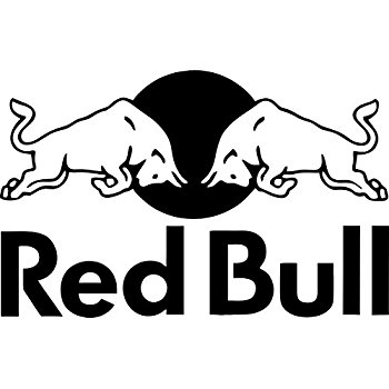 Red Bull clipart black and white Com: Decal Red Decal: Amazon
