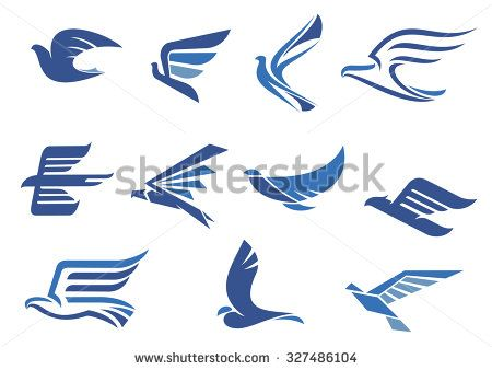Red Bull clipart blue Falcon Pinterest as hawk Flying