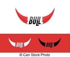 Red Bull clipart bul Logo symbol Template logo design