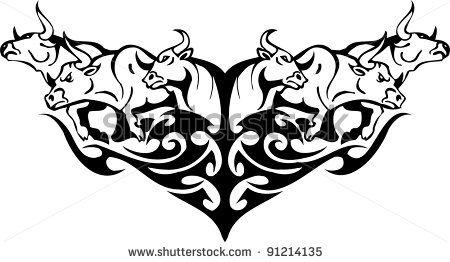 Red Bull clipart charging bull Charging Bull  Stock Bull