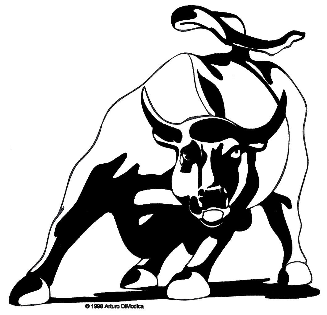 Red Bull clipart charging bull Modica Bull Arturo Di Charging