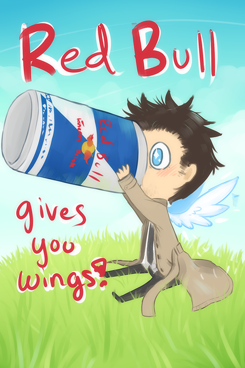 Red Bull clipart cute Angels Mousu on for by