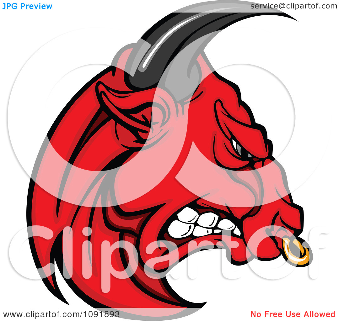 Red Bull clipart face Download Mad Clipart Bull Bull