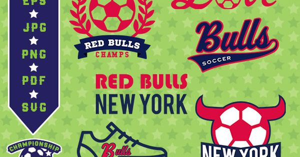 Red Bull clipart football Red Red Red SVG Logo