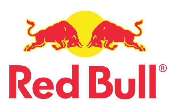 Red Bull clipart graphic #1