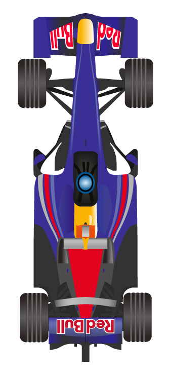 Red Bull clipart indian Sebastian driver pole the only